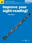 Improve your sight-reading! Clarinet Grades 1-3 - Book