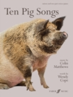 Ten Pig Songs - Book