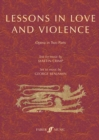Lessons in Love and Violence (Libretto) : An Opera in Two Parts - Book