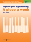 Improve your sight-reading! A Piece a Week Piano Grade 4 - Book