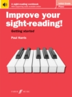 Improve your sight-reading! Piano Initial Grade - Book