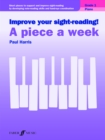 Improve your sight-reading! A Piece a Week Piano Grade 1 - eBook
