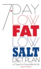 7-Day Low Fat/Low Salt Diet Plan - eBook