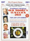 Old Moore's Almanac 2021 - Book
