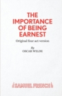 The Importance of Being Earnest : 4-act Version - Book