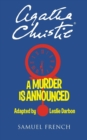 A Murder is Announced : Play - Book