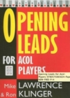 Opening Leads for ACOL Players - Book