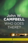 Who Goes There - eBook