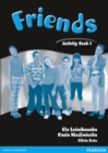 Friends 1 (Global) Activity Book - Book