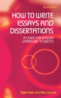 How to Write Essays and Dissertations : A Guide for English Literature Students - Book