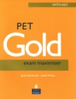 PET Gold Exam Maximiser with Key New Edition - Book