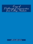 Cases of Problematic Communication from College Students - eBook