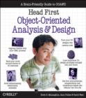 Head First Objects-Oriented Analysis and Design : The Best Introduction to Object Orientated Programming - Book