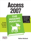 Access 2007: The Missing Manual : The Missing Manual - eBook