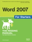 Word 2007 for Starters: The Missing Manual : The Missing Manual - eBook