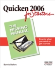 Quicken 2006 for Starters: The Missing Manual : The Missing Manual - eBook