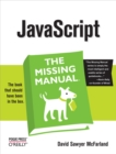 JavaScript: The Missing Manual : The Missing Manual - eBook