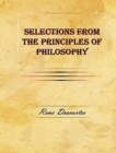 Selections from the Principles of Philosophy - eBook