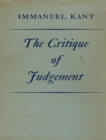 The Critique of Judgement - eBook