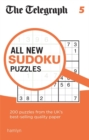 The Telegraph All New Sudoku Puzzles 5 - Book