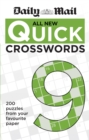 Daily Mail All New Quick Crosswords 9 - Book