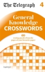 The Telegraph: General Knowledge Crosswords 4 - Book