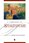 A Companion to Shakespeare - Book