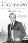 Carrington : An Honourable Man - Book