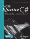 More Effective C# (Includes Content Update Program) : 50 Specific Ways to Improve Your C# - Book