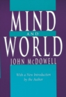 Mind and World : With a New Introduction by the Author - Book