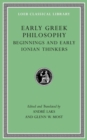 Early Greek Philosophy, Volume I : Beginnings and Early Ionian Thinkers - Book