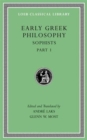 Early Greek Philosophy, Volume VIII : Sophists, Part 1 - Book