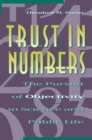 Trust in Numbers : The Pursuit of Objectivity in Science and Public Life - Book
