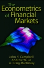 The Econometrics of Financial Markets - Book