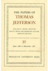 The Papers of Thomas Jefferson, Volume 10 : June 1786 to December 1786 - Book