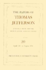 The Papers of Thomas Jefferson, Volume 20 : April 1791 to August 1791 - Book