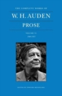 The Complete Works of W. H. Auden, Volume VI : Prose: 1969-1973 - Book