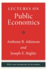 Lectures on Public Economics : Updated Edition - Book