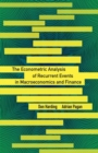 The Econometric Analysis of Recurrent Events in Macroeconomics and Finance - Book