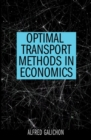 Optimal Transport Methods in Economics - Book