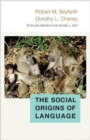 The Social Origins of Language - Book