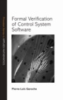 Formal Verification of Control System Software - eBook