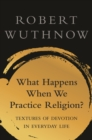 What Happens When We Practice Religion? : Textures of Devotion in Everyday Life - eBook