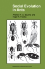 Social Evolution in Ants - eBook