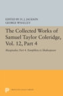 The Collected Works of Samuel Taylor Coleridge, Vol. 12, Part 4 : Marginalia: Part 4. Pamphlets to Shakespeare - Book