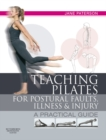 E-Book Teaching Pilates for Postural Faults, Illness and Injury - eBook