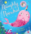 Naughty Narwhal colour-changing sequin book (PB) - Book