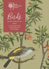 RHS Birds Pocket Notebook Set - Book