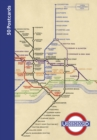 London Underground 50 Postcards - Book