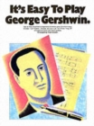 It's Easy to Play George Gershwin - Book